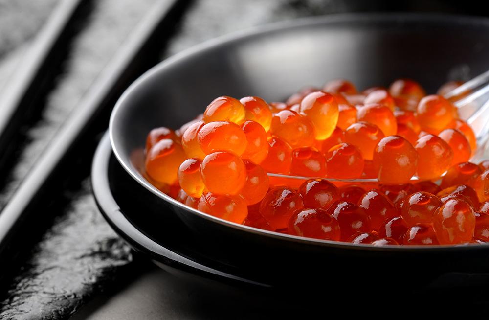 Salmon Roe: Salted Salmon Roe (Chum Ikura, 2.2 Lbs)